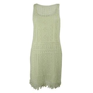 Ralph Lauren Women's Sleeveless Crochet Dress