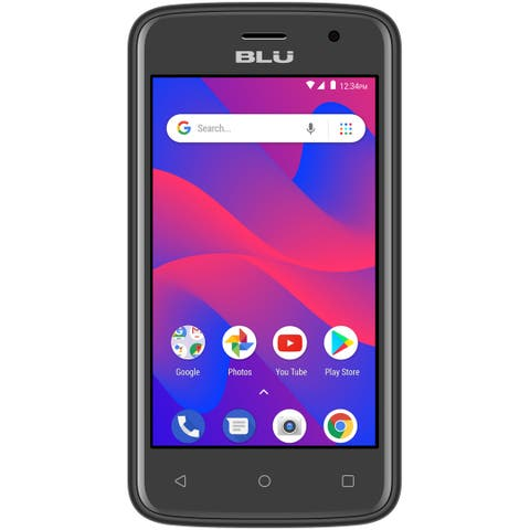 BLU C4 C050U 3G Unlocked GSM Dual-SIM w/ 5MP Front and Rear Camera's - (Certified Refurbished)