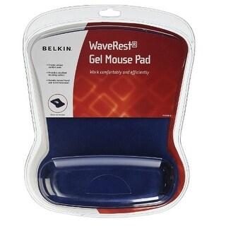 Belkin WaveRest Gel Mouse Pad,Blue (F8E262-BLU)
