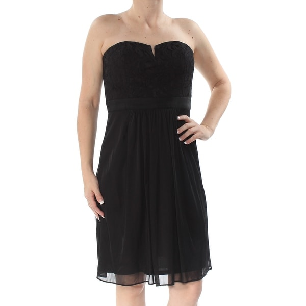 ADRIANNA PAPELL Womens Black Sleeveless