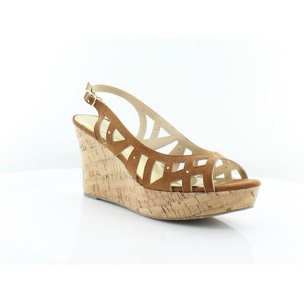Thalia Sodi Ebbie Women's Heels Cognac - 10