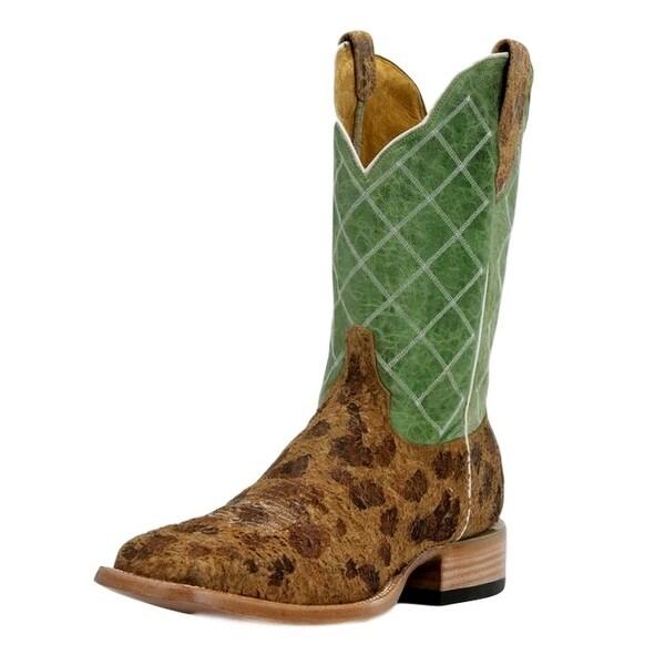 Cinch Western Boots Womens Cowboy Square Toe Atilla Brown