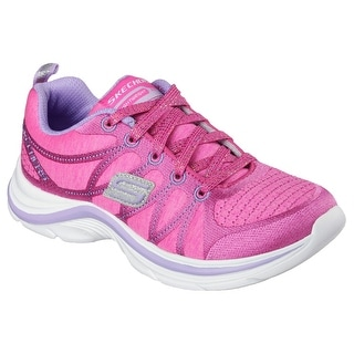 Skechers 81493 NPLV Girl's SWIFT KICKS - SHIMMIE UP Sneaker