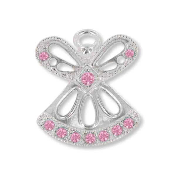 Ddi Wings And Wishes June Birthstone Angel (pack Of 28)