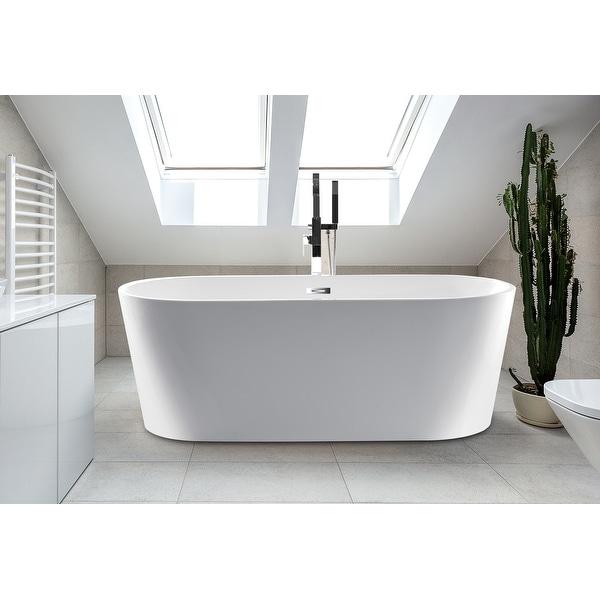 "Scarlett 63"" Freestanding Bathtub"