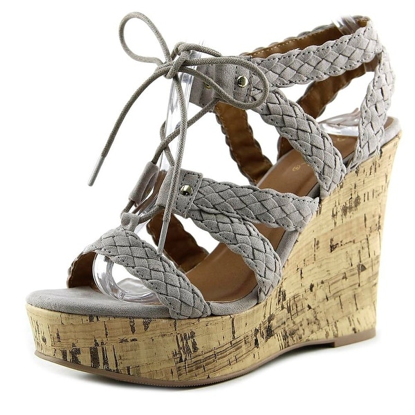 Qupid Kelsey-76 Taupe Sandals