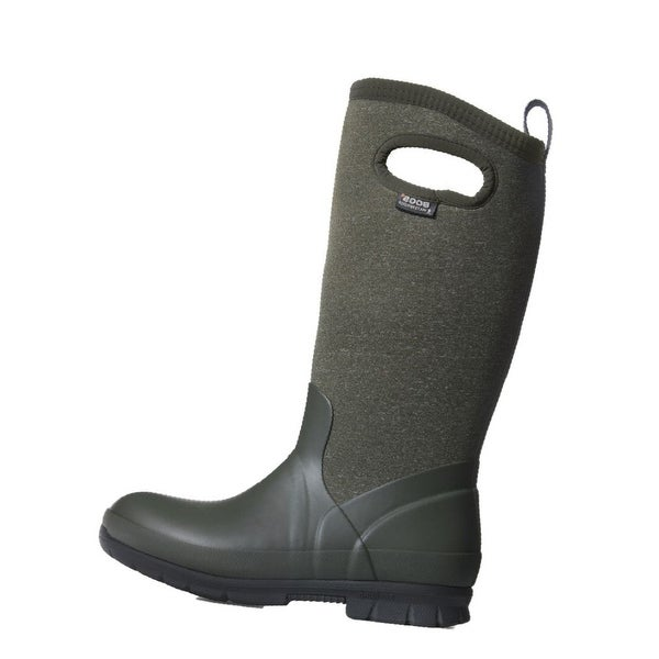 Bogs Boots Womens Pull On Crandall Tall WP Slip Resistant