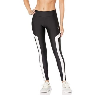 Link to PUMA Women's Chase Colorblocked Leggings, Black, S Similar Items in Athletic Clothing