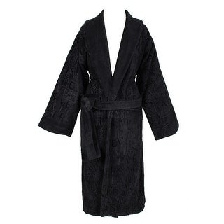 Versace VHA9969 001 Black Versace Signature Bathrobe