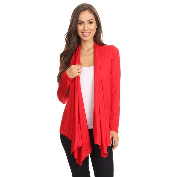 Women's Trendy Fitted Relaxed Open Cardigan. Opens flyout.