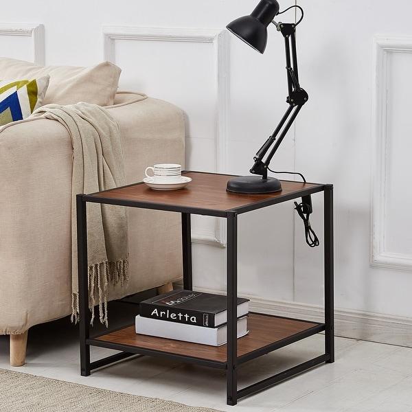 Shop Vecelo Coffee Table End Table Modern Studio