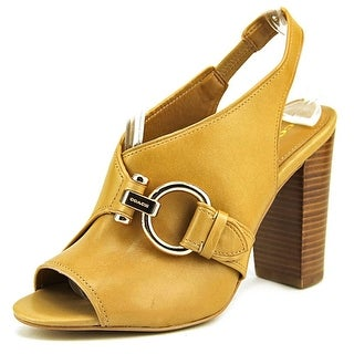 Coach Sherry Open Toe Leather Sandals