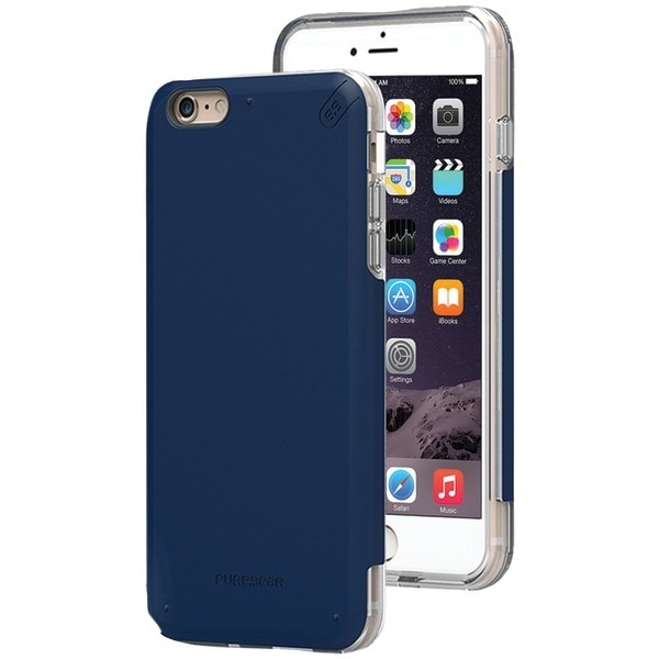 Pure Gear 11076Vrp Iphone(R) 6 Plus/6S Plus Dualtek(R) Pro Case (Blue/Clear)
