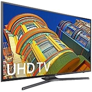 Samsung 6-Series UN50KU6300 50-inch 4K Smart UHD LED TV - 3840 x (Refurbished)