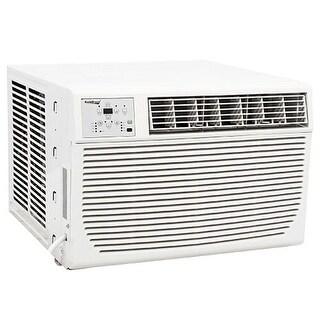 Koldfront WAC12001W 12000 BTU 220V Window Air Conditioner with 11000 BTU Heater and Remote