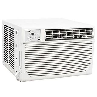 Koldfront WAC8001W 8000 BTU 115V Window Air Conditioner with 3500 BTU Heater and Remote Control