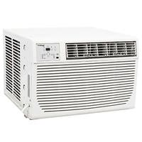 Koldfront WAC8001W 8000 BTU 115V Window Air Conditioner with 3500 BTU Heater and Remote Control