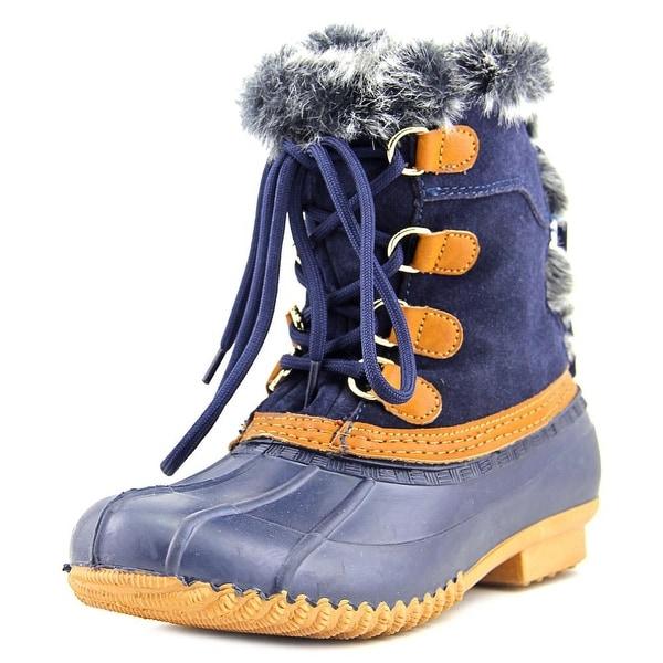 Tommy Hilfiger Rellenna Round Toe Suede Winter Boot