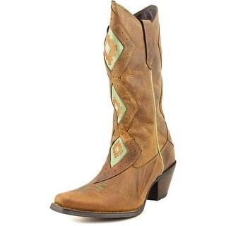 Durango Crush   Pointed Toe Leather  Western Boot