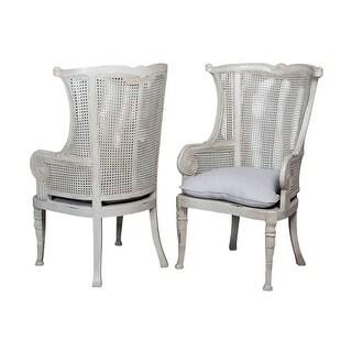 Safavieh Old World Dining Mckenna Antique Brown Arm Chair