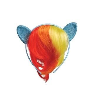 Disguise Rainbow Dash Movie Child Headpiece - Blue