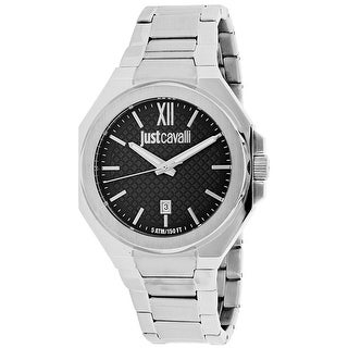 Just Cavalli Men's Just Strong Grey Dial Watch