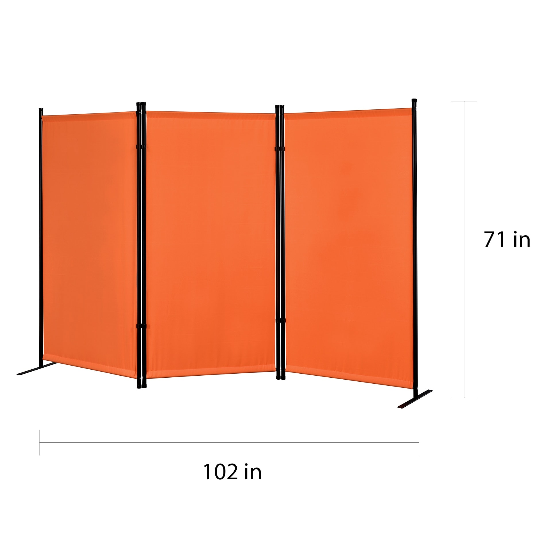 Image of: Shop Black Friday Deals On Proman Products Galaxy Indoor Outdoor 3 Panel Room Divider On Sale Overstock 22123052