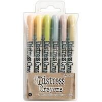 Ranger Tholtz Distress Crayon Set 8 8