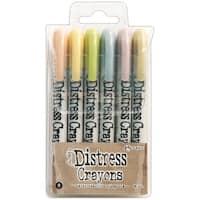 Tim Holtz Distress Crayon Set-Set #8