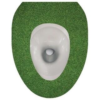 Toilet Seat Lid Sticker Tattoo - Golf Ball