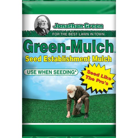 Jonathan Green 10944 Green-Mulch Seed Establishment Mulch, 15 Lbs