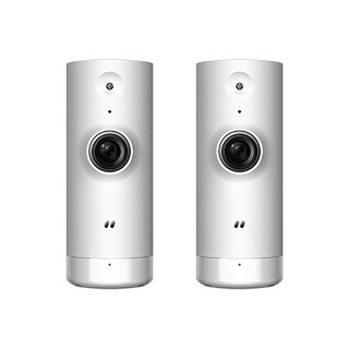 D-Link DCS-8000LH-US (2-Pack) Mini HD Indoor Day and Night Wi-Fi Camera