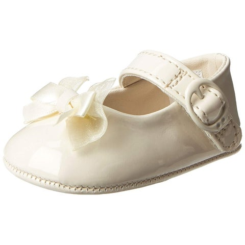 Baby Deer Patent SM With Bow Mary Jane (Infant) - 2 m us infant