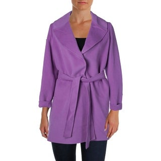 Marina Rinaldi Womens Plus Nora Wool Double-Breasted Coat - 22
