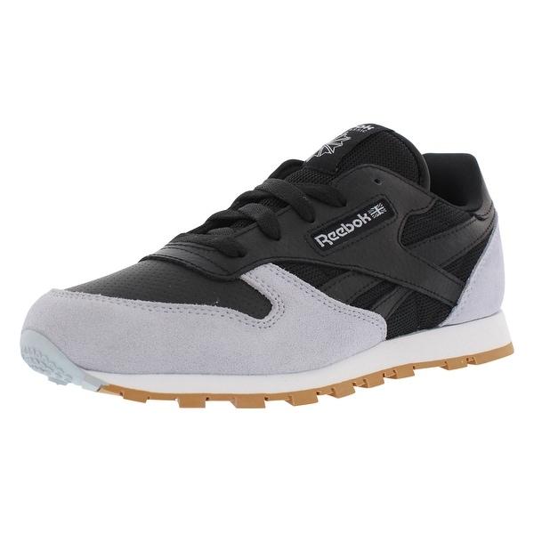 Reebok Cl Leather - Split Personality Preschool Classic Boy  x27 s Shoes - 3 a3523a6d4