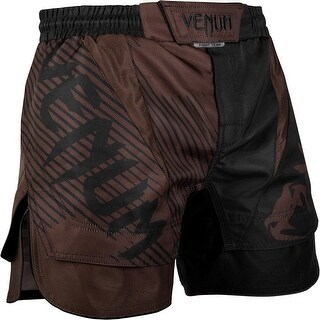 Venum No-Gi 2.0 Lightweight MMA Fight Shorts - Black/Brown