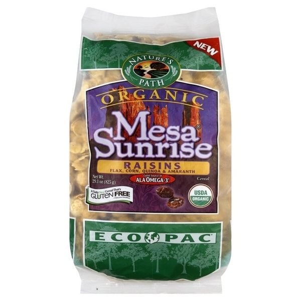Nature's Path Organic Mesa Sunrise Flakes with Raisins - Case of 6 - 29.1 oz.