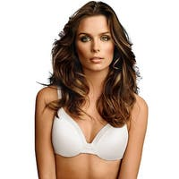 Maidenform® Comfort Devotion® Tailored Extra Coverage T-Shirt Bra - Size - 38DD - Color - White
