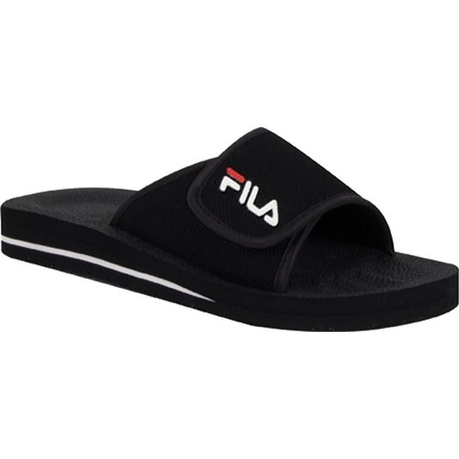 25a8309c Fila Men's Slip On 1SC036XX Black/White/Chinese Red