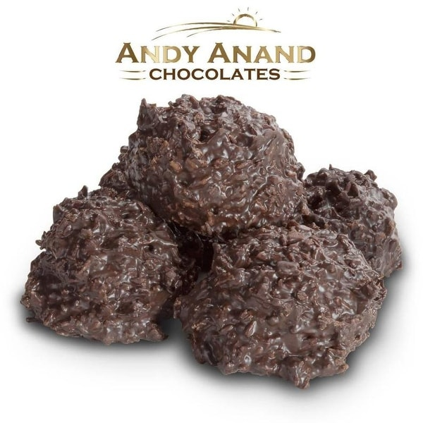 Andy Anand Sugar Free Coconut Haystack in Dark Belgian Chocolate