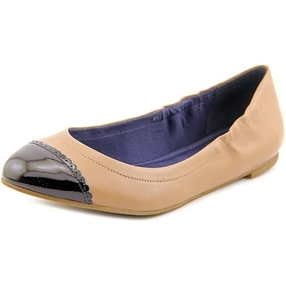 Jack Rogers Bree Stretch Round Toe Synthetic Flats