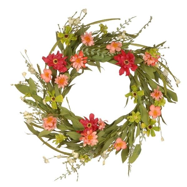 """22"""" Wildflower Wreath - N/A"""