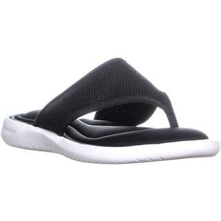 ID35 Carey Slip On Flip Flops, Black - 7 us