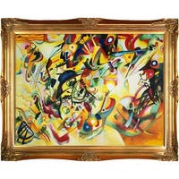 Wassily Kandinsky 'Composition VII' Hand Painted Oil Reproduction