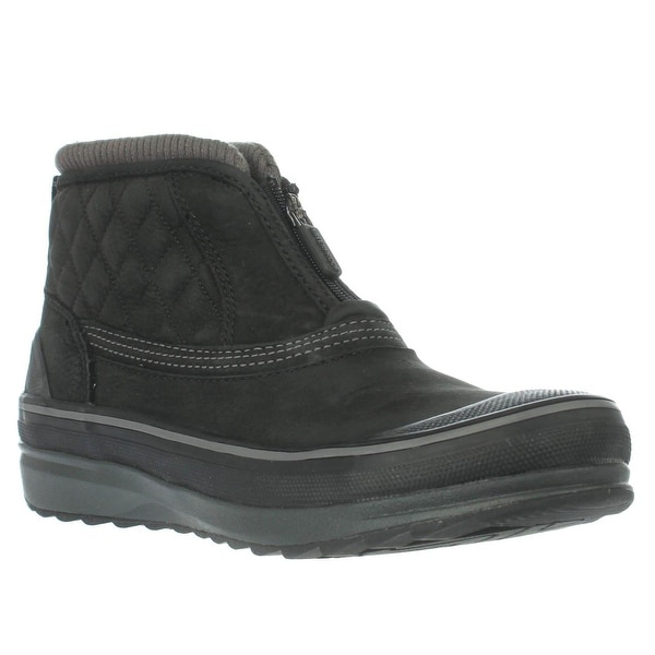 Clarks Muckers Swale Platform Snow Boots, Black