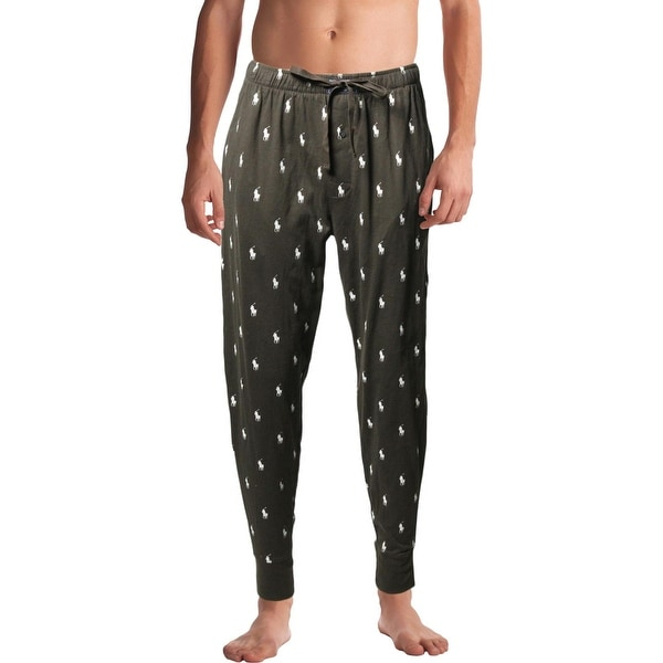 Shop Polo Ralph Lauren Mens Jogger Pants Logo Print Drawstring - Free  Shipping On Orders Over  45 - Overstock.com - 26391042 11e8f7aa2