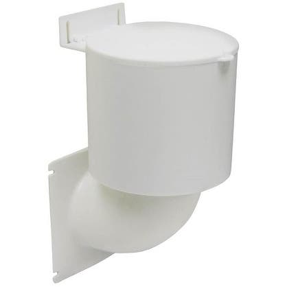 "Lambro 289W Ultra Seal Dryer Vent Hood, 4"", White"