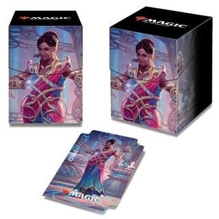 Deck Box Pro 100 Plus Magic The Gathering C18 - Saheeli Card Game