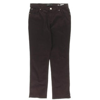 Lee Platinum Label Womens Straight Leg Jeans Colored High-Rise