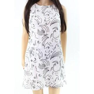 Lauren By Ralph Lauren NEW White Womens Size 10P Petite Sheath Dress